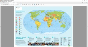 Weltkarte als PDF zum Ausdrucken