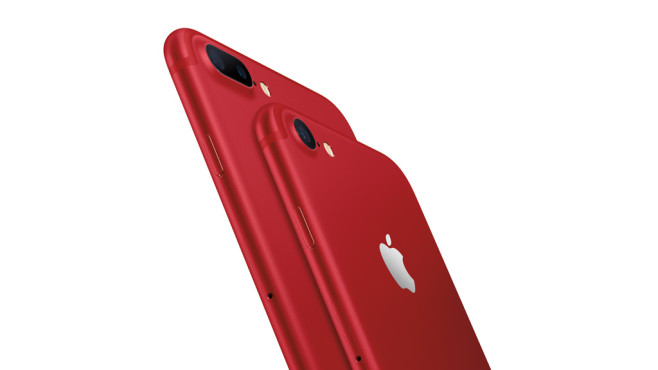 iPhone 7 (Product) Red©Apple