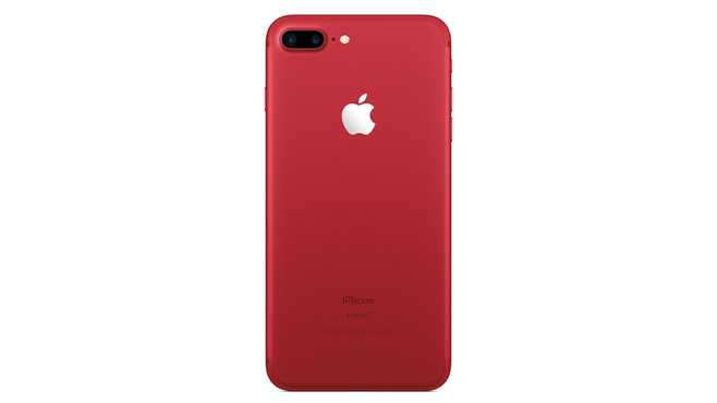 iPhone 7 (Product) Red ©Apple