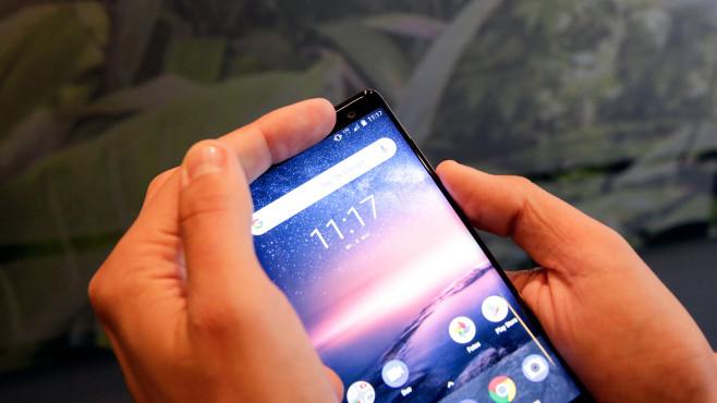 Nokia 8 Sirocco: Test, Preis, Release, Kaufen – alle Infos! Die Vorderkamera enttäuscht etwas, Details lassen zu Wünschen übrig.©COMPUTER BILD