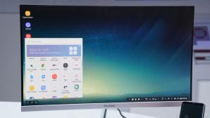 Samsung DeX Station macht das Galaxy S8 zum PC©COMPUTER BILD