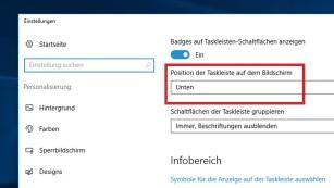 Windows 7/8/10: Taskleiste voll – so verschieben Sie sie trotzdem©COMPUTER BILD