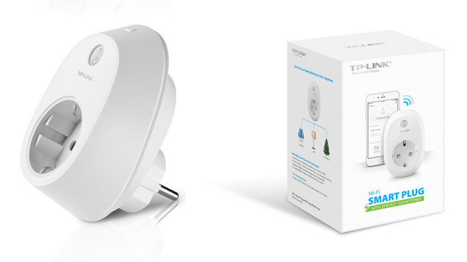 TP-Link: Das Smart Plug HS110 bringt selbst Omas Lampe ins Internet.©TP-Link