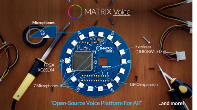 Matrix Voice©Indiegogo/Matrix Labs