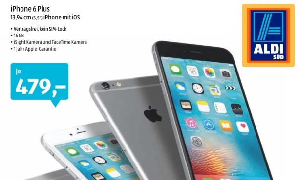 iPhone 6 Plus bei Aldi Süd©Aldi Süd