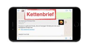WhatsApp: Kettenbrief©Onlinewarnungen.de