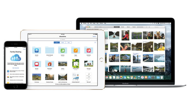 Apple iCloud©Apple