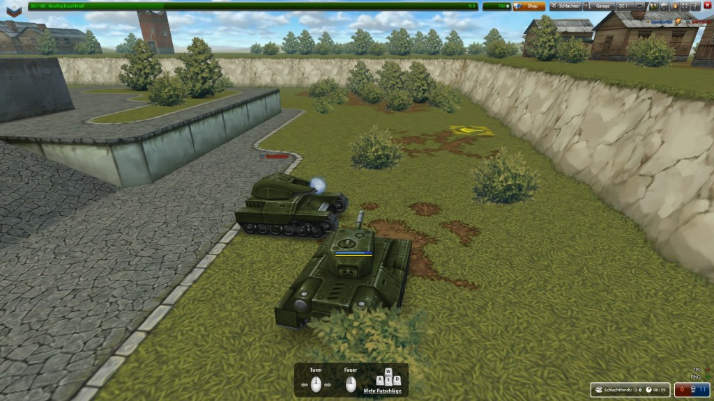 Screenshot 1 - Tanki Online
