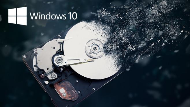 """""""... auf Ihrer Festplatte"""" ©iStock.com/baloon111, Microsoft"""
