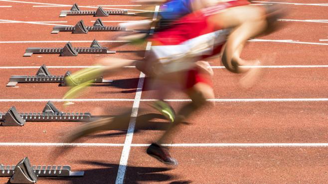 Defragmentieren macht den PC schnell ©Fotolia--Stefan Schurr-Sprintstart in der Leichtathletik