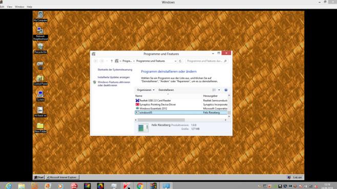 Windows deinstallieren ©COMPUTER BILD