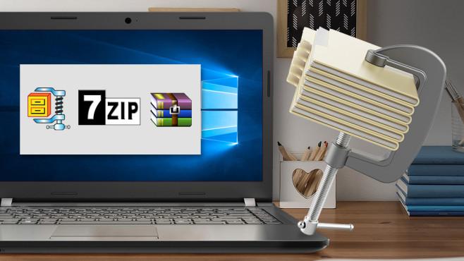 ZIP-Komprimierung verkleinert Dateien ©istock.com/kostsov, Photographee.eu – Fotolia.com