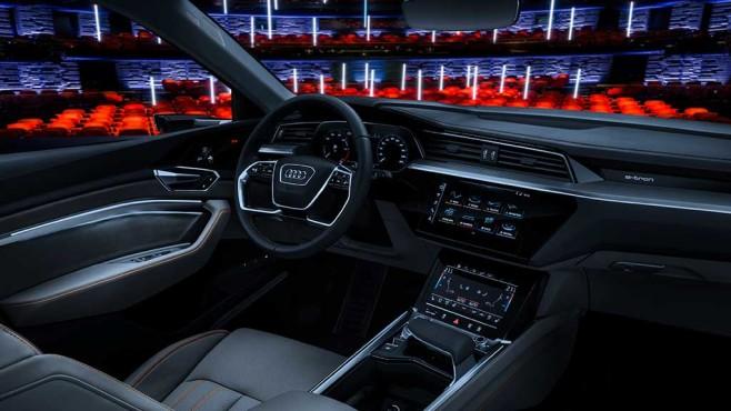 Audi e-tron: Innenraum©Audi