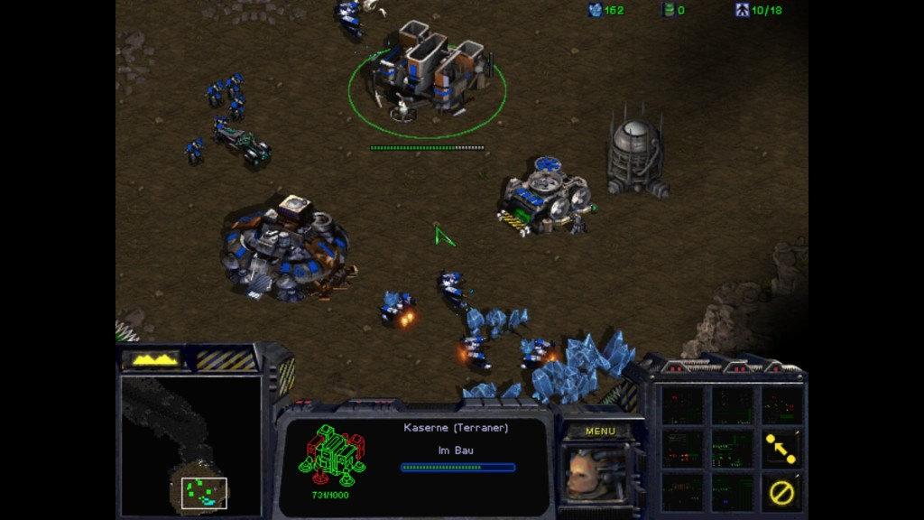 Screenshot 1 - StarCraft Anthology – Kostenlose Vollversion