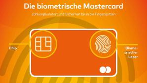 Mastercard: Fingerabdruck-Leser©obs/Mastercard Deutschland
