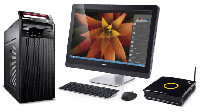 Desktop-PC, All-In-One, Mini-PC © Lenovo, Dell, Zotac
