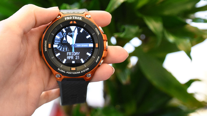 Casio WSD-F20: Outdoor-Smartwatch im Detail © COMPUTER BILD