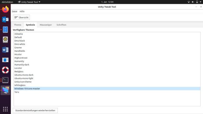Linux Ubuntu: Windows-10-Design mit kostenlosem Theme aktivieren©Microsoft, COMPUTER BILD