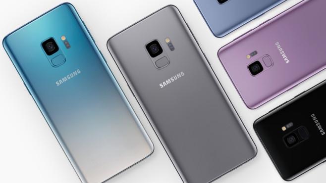 Samsung Galaxy S9: Farben©Samsung