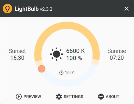 Screenshot 1 - LightBulb