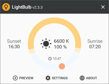 Screenshot 1 - LightBulb Portable