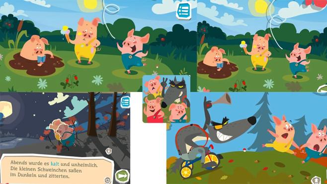 Die Abenteuer der drei kleinen Schweinchen ©Irene Deev