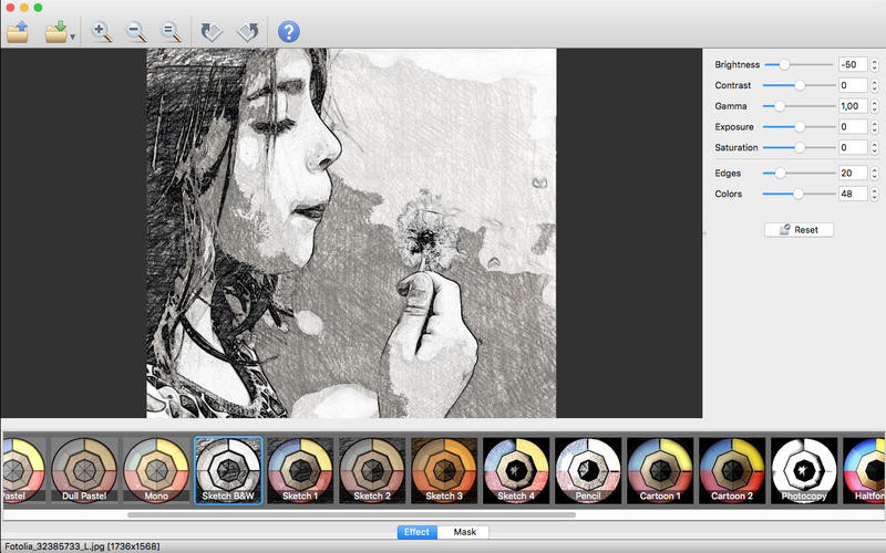 Screenshot 1 - XnSketch (Mac)