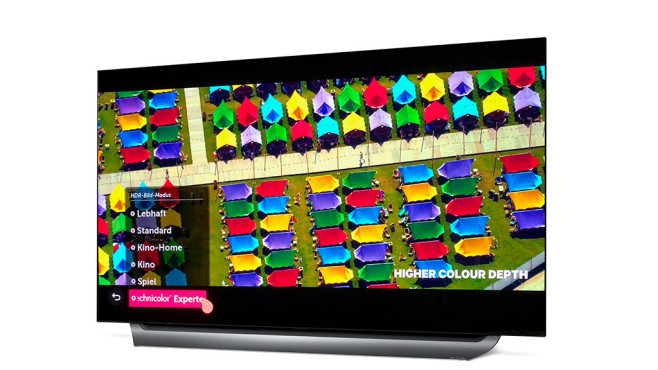 Besseres TV-Bild mit HDR: LG OLED C8©LG, COMPUTER BILD