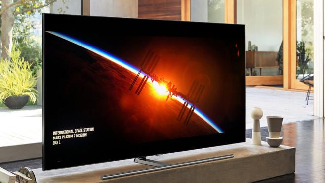 Samsung Q9FN mit HDR im Test©Samsung, Sony Pictures, COMPUTER BILD