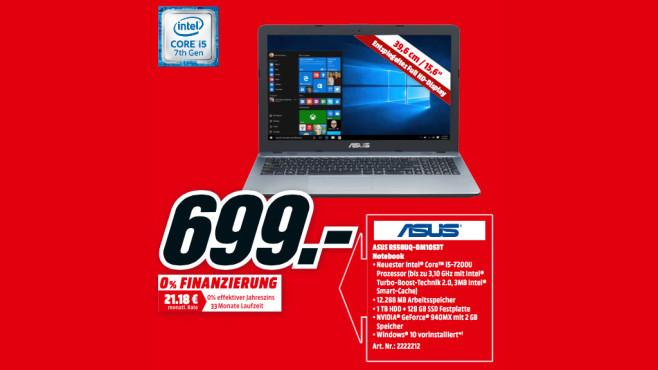 Asus R558UQ-DM1053T ©Media Markt