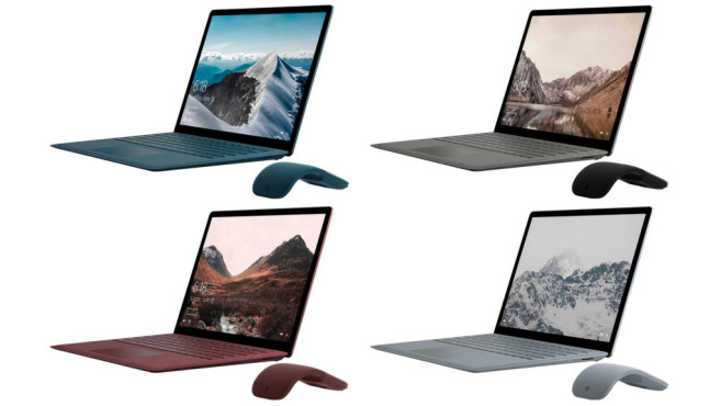 Microsoft Surface Laptop © Microsoft