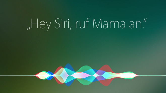 Apple Siri © Apple