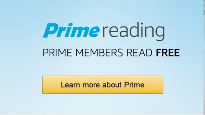 Amazon Prime Reading Ebook Flatrate Computer Bild