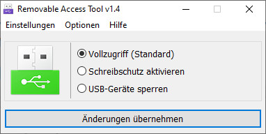 Screenshot 1 - Ratool (Removable Access Tool)