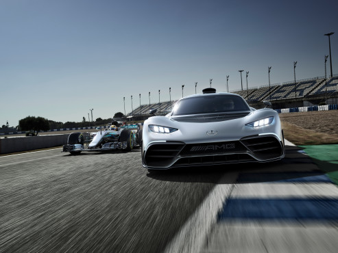 Mercedes-AMG Project One ©Mercedes-AMG