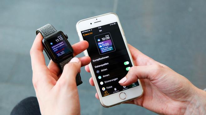 Apple Watch und iPhone©COMPUTER BILD