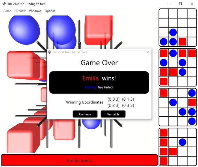 Screenshot 1 - 3D-TicTacToe