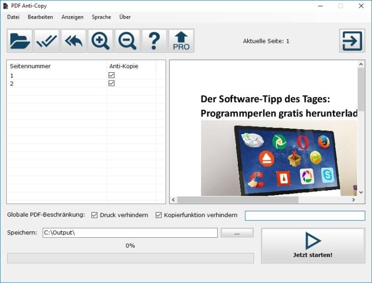 PDF Anti-Copy Portable 2.2.2.0 - Download - COMPUTER BILD
