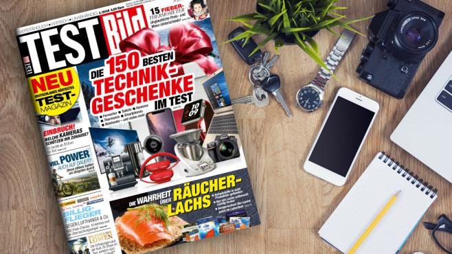 TESTBILD 1/2018: Deutschlands härtestes Testmagazin – jetzt im Handel! Jetzt neu! Deutschlands härtestes Testmagazin: Die sechste Ausgabe der TESTBILD ist im Zeitschriftenhandel und unter  erhältlich.©bramgino – Fotolia.com, TestBild
