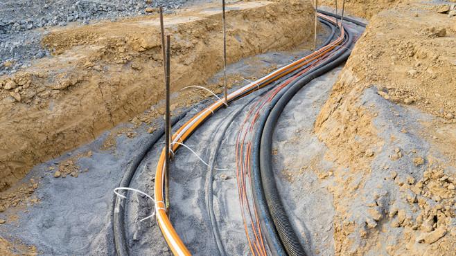 Glasfaser-Ausbau in Deutschland©ThomBal – Fotolia.com