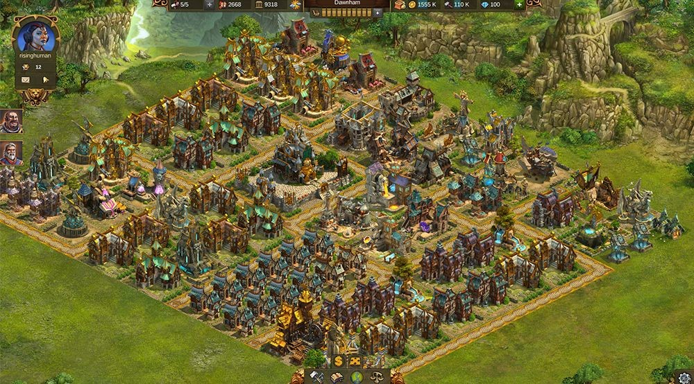 Screenshot 1 - Elvenar