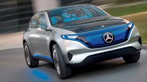 Mercedes: Elektroauto©Mercedes