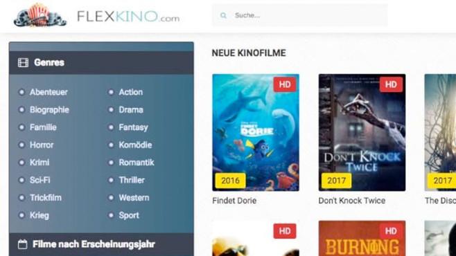 Flexkino: Screenshot©Flexkino.com