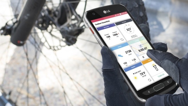 Smartphone LG X Venture©LG