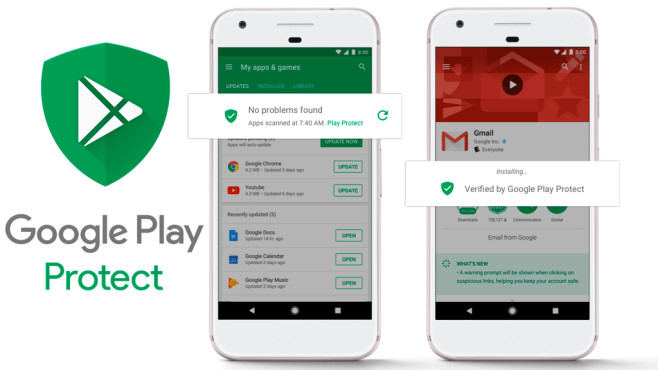 Google Play Protect©Google