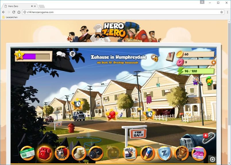 Screenshot 1 - Hero Zero