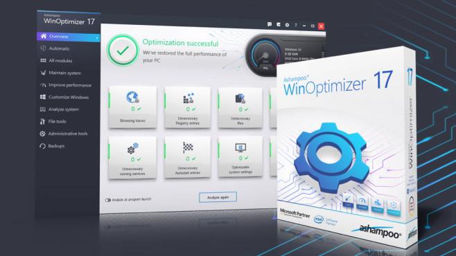 WinOptimizer 17©Ashampoo, Montage: COMPUTERBILD