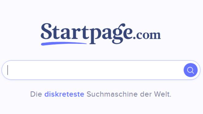 Startpage ©COMPUTER BILD