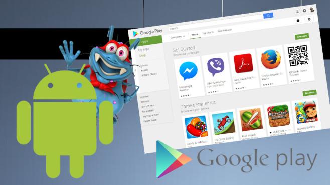 Versteckte Schadfunktionen in Playstore-Apps©Google, julien tromeur – Fotolia.com