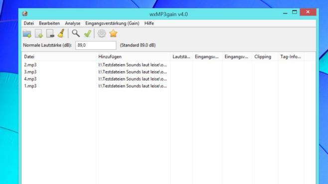 Musikdateien normalisieren: Diese Gratis-Tools gleichen Lautstärken an Für den Lautstärke-Angleich von MP3s ist wxMP3gain die Empfehlung.©COMPUTER BILD